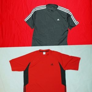 ADIDAS 3-Stripe Bundle (2-Pack Short Sleeve)